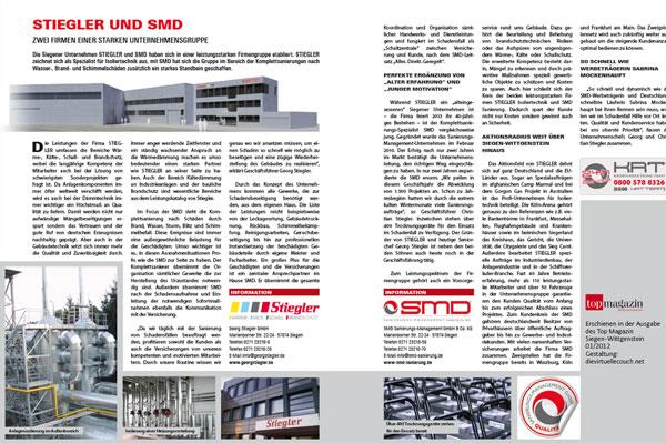 Bild: Stiegler und SMD – zwei Firmen einer starken Unternehmensgruppe